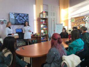 Лекція Мікроорганізми та їх значення у сучасному світі від волонтерів доннму