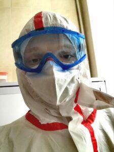 Студент третього курсу другого медичного факультету Донецького національного медичного університету Едуард Махиня