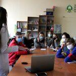 """Лекція щодо COVID-19 у """"Happy hub"""" від студентів ДонНМУ"""